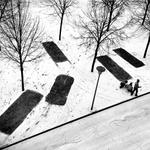 graphisme hivernal // winter stencil key set